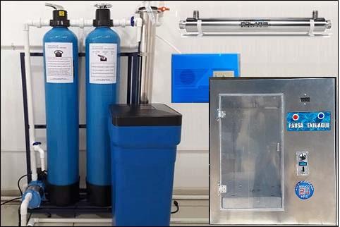 purificadora de agua con despachador las 24 horas